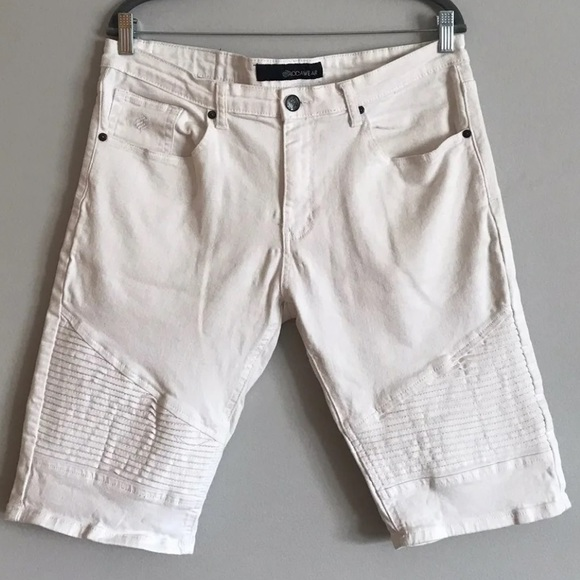 Rocawear Other - Rocawear men's white jean stretchy shorts